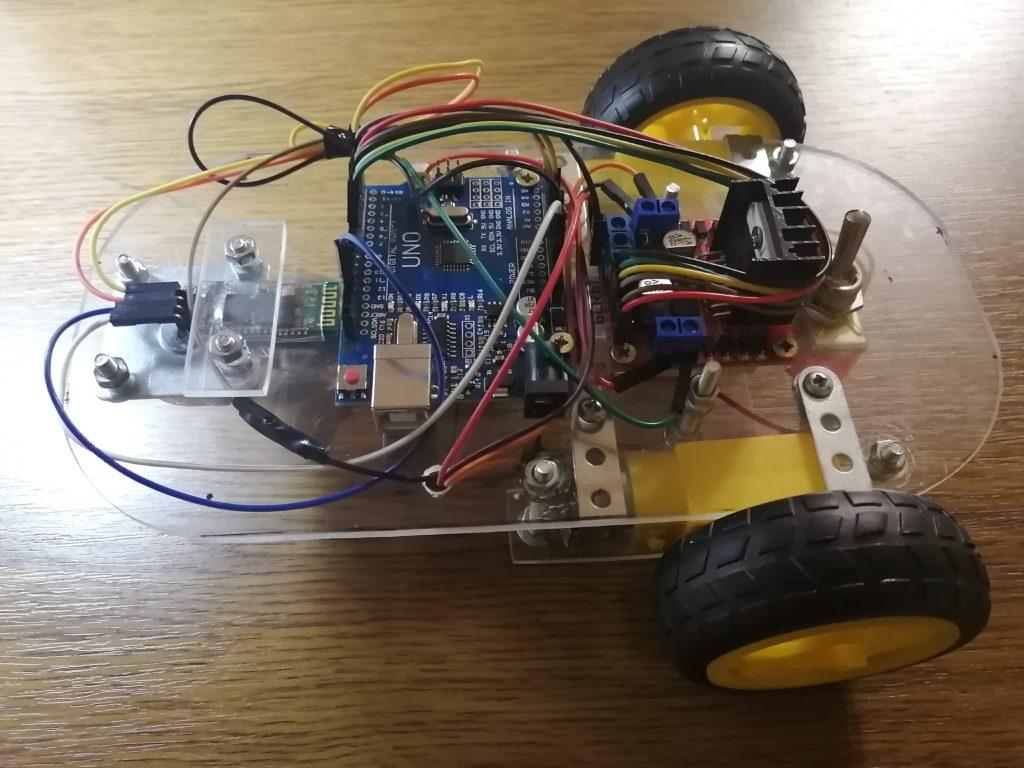 Самодельная Bluetooth машинка